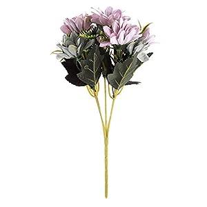 Artificial Flowers Bouquet Flowers Fake Plants Floral Arrangement for Wedding Room Bridal Party Home Office DIY Decoration 93