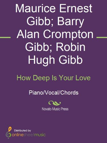 How Deep Is Your Love Kindle Edition By Barry Alan Crompton Gibb