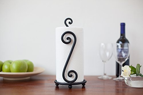 Review Fancy Paper Towel Holder