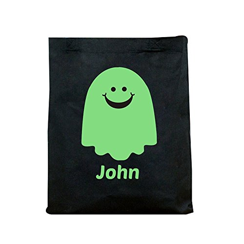 GiftsForYouNow Glow in the Dark Ghost Personalized Halloween Trick or Treat (Glow In The Dark 15 Dresses)