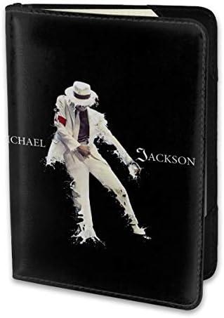 マイケル ジャクソン Michael Jackson パスポートケース メンズ レディース パスポートカバー パスポートバッグ 携帯便利 シンプル ポーチ 5.5インチ PUレザー スキミング防止 安全な海外旅行用 小型 軽便