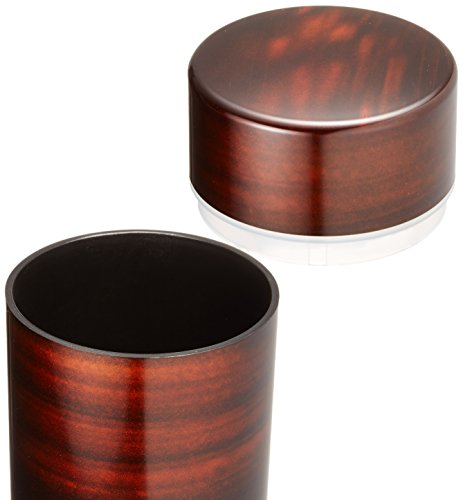 HAKOYA tea caddy Marudai cherry wood 56701 (japan import) by Ya Tatsumi (Image #1)