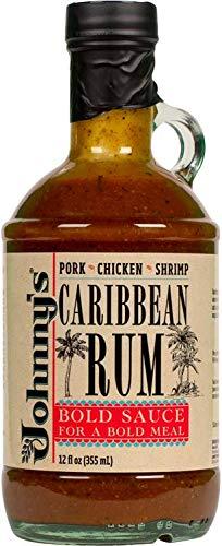 Johnny's Caribbean Rum Cooking Sauce 12 oz (Best Dark Rum For Cooking)
