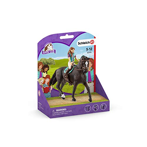 Schleich Horse Club Horse Club Lisa and Storm Educational Figurine for Kids Ages 5-12