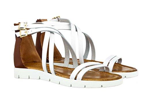 Sandali donna in pelle per l'estate scarpe RIPA shoes made in Italy - 09-8232