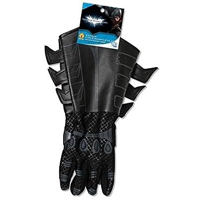 Batman: The Dark Knight Rises: Batman Gloves with Gauntlets, Child Size (Black): Toys & Games