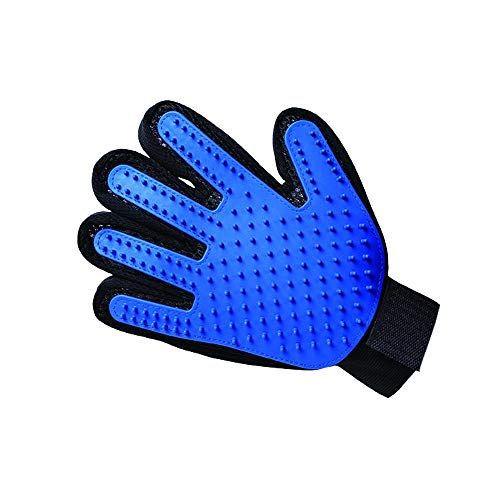 Flyup 1 PCS Pet Grooming Glove, Pet Hair Remover for Dog Cat Massage Gloves Left Hand Right Hand Draw