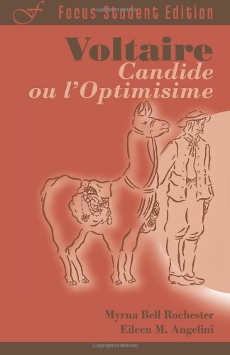 Candide, ou l'Optimisime (Focus Student Edition) (French Edition)