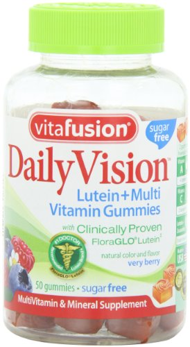 Vitafusion DailyVision Gummy Vitamin, 50 Count, Health Care Stuffs