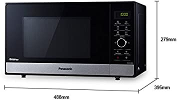 Panasonic NN-GD38HSGTG Encimera - Microondas (Encimera, Microondas ...