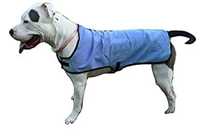 ArcticBlu Dog Cooling Vest, Durable Lightweight UV Protection and Cooling Vest For Your K-9, Blue