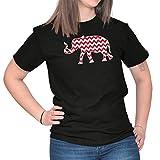 Alabama State Chevron Elepahant Novelty Funny T Gift Ideas T Shirt Tee