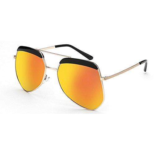 soleil lumière rétro plein Mode couple lunettes lunettes solaire 06 air protection  personnalité en polarisées 06 de de ZHIRONG ... 04af3764f62d