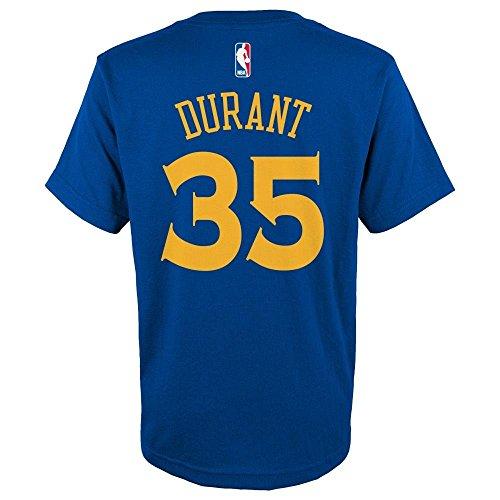 Nba durant game time name and number short sleeve tee flat for Kevin durant golden state warriors t shirt