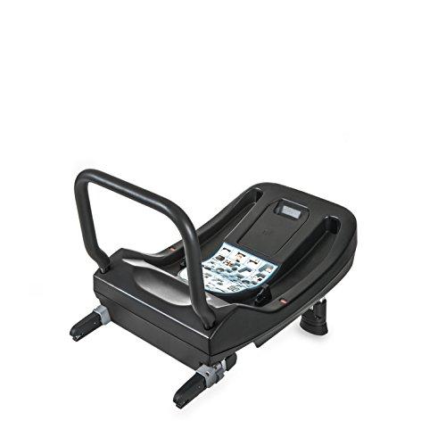iCoo iGuard fix Isofix Base, compatible con el asiento para bebe Guardfix, con tres indicadores de color para seguridad, ECE group 0 + (0-13 kg) - negro