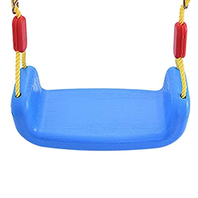 BONJIU Children's Toys Swing with Basketball Combination Swing Set for Kids Indoor and Outdoor Play-Family Games: Toys & Games