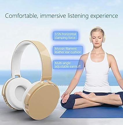 Auricular, Deportes Auricular Bluetooth, Auriculares estéreo Plegables Auriculares inalámbricos para PS4 Xbox One Ordenador