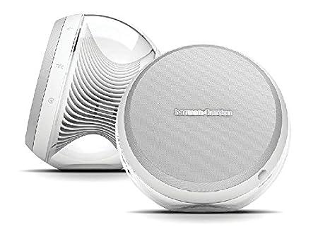 Harman Kardon NOVA BLK High-Performance Wireless Stereo Speaker System (White) Outdoor Speakers at amazon