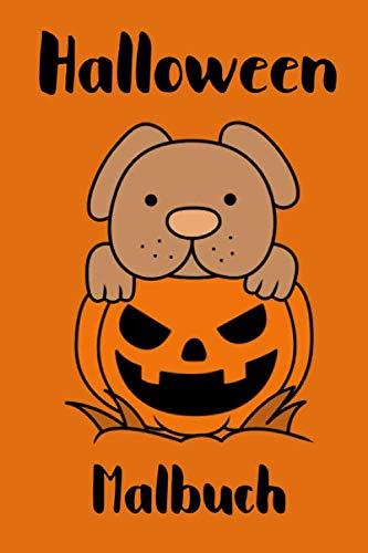 Bild Von Halloween (Halloween Malbuch: A5 Halloween Ausmalbuch Ausmalbilder für Kinder, Kleinkinder und Schulkinder I Kindergarten Malbücher zu Halloween (German)
