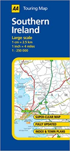 AA Road Map Southern Ireland (AA Touring Map): Amazon.co.uk ... Aa Ireland Road Map on aa scotland road map, meteor road map, aa road map of england, aa route planner ireland, rac road map, aa france road map, uk england road map, aa uk road map,