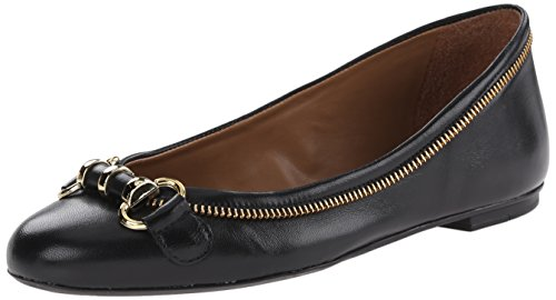 French Sole FS/NY Womens Padre Ballet Flat Black