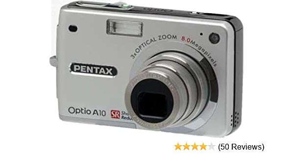 amazon com pentax optio a10 8mp digital camera with 3x optical rh amazon com Pentax Optio Digital Camera Sports Pentax Optio Digital Camera Sports