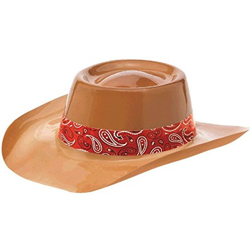 (Western Cowboy Party Hat, Light brown)