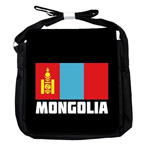 Mongolei -Flagge - Unisex-Umhängetasche