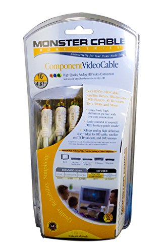 Monster Home Series Component Video Cable 16 ft. ()