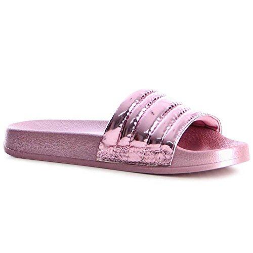 topschuhe24 - Sandalias de vestir de otros para mujer Rosa