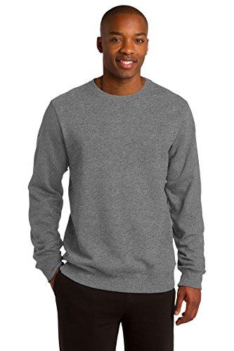 Sport-Tek Men's Crewneck Sweatshirt XS Vintage Heather