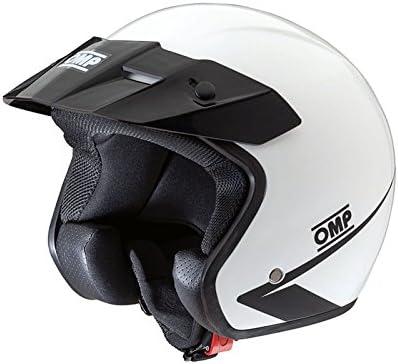 bianco taglia XXL OMP ompsc607e020/X XL Star Casco colore