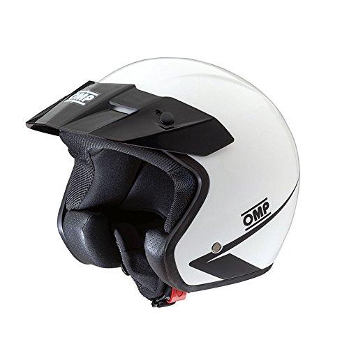 Omp OMPSC607E020M ompsc607e020m Star Helmet, White, Size M