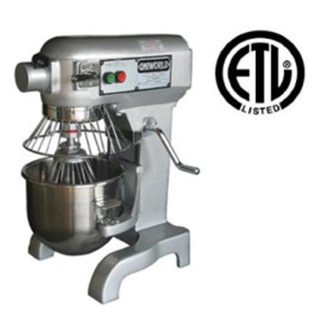UniWorld 10 Quart Planetary Mixer 3 Speeds ETL Listed UPM-10E