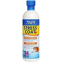 API Stress Coat Aquarium Water Conditioner 16 oz Bottle
