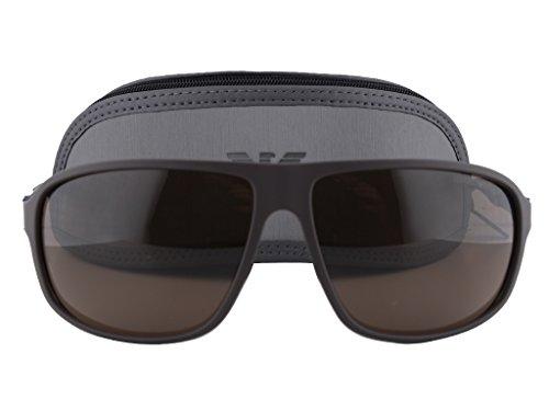 517dcb6bafe Emporio Armani EA4029 Sunglasses Brown Rubber w Brown Lens 5210 73 EA 4029  - Buy Online in UAE.