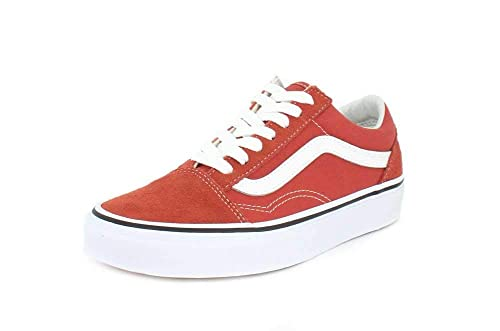 Vans Old Skool Hot Sauce/True White: Amazon.co.uk: Shoes & Bags