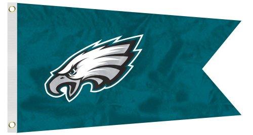 NFL Philadelphia Eagles Boat/Golf Cart Flag (Medium Flagpole Eagle)