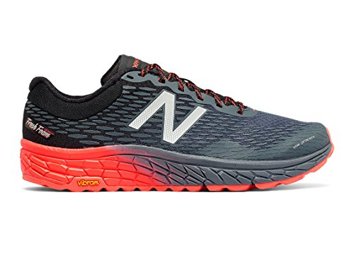 New Balance Men's HIEROV2 Trail Running Shoe, Outer Space/Black/Alpha Orange, 13 D US
