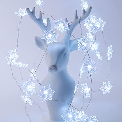 Led Snowflake Light String in US - 9