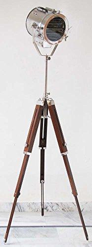 - Royal Designer Nautical Collectible Spot light Sport Searchlight Tripod Studio Floor Lamp