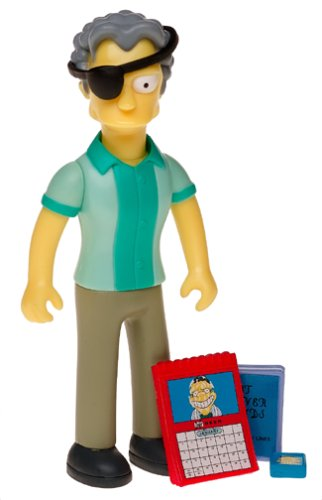 The Simpsons Series 15 Action Figure Handsome Moe]()
