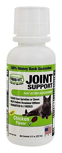 Cool Pet Holistics - Liquid-Vet Cat Joint Formula Chicken Flavor - 8 oz. (Joint Chicken Formula)