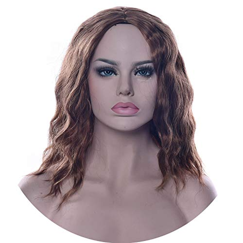 Short Wavy Cosplay Wigs Synthetic Hair Hair Pieces Party Hair Wig for Women,230,12inches,France ()