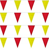Red/Yellow Heavy Duty String Pennants (60 ft.) Review