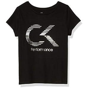 Best Epic Trends 41S6LkqxkiL._SS300_ Calvin Klein Girls' Performance Short Sleeve Tee Shirt