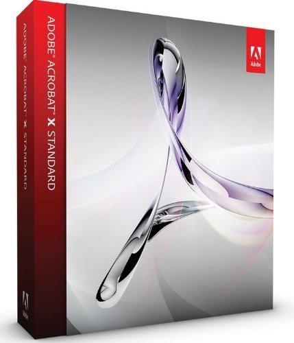Acrobat Standard X For Windows Complete Version