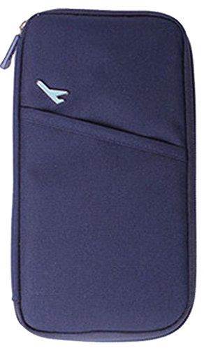 VISKEY Durable Waterproof Nylon Travel Document Wallet