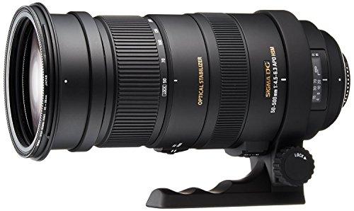 Sigma 50-500mm f/4.5-6.3 APO DG OS HSM SLD Ultra Telephoto Zoom Lens for Nikon Digital DSLR Camera - International Version (No Warranty)