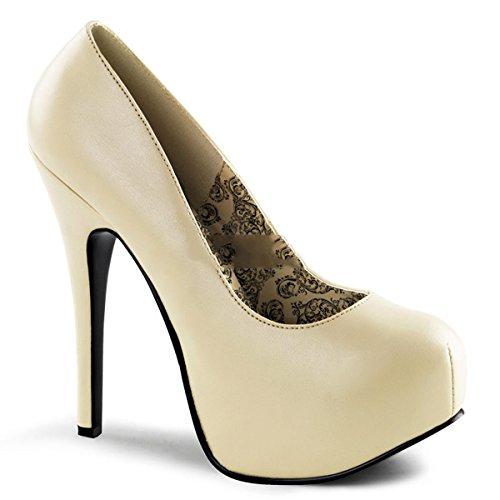Bordello Teeze-06 - sexy burlesque plateaus chaussures femmes talon hauts - taille 36-43